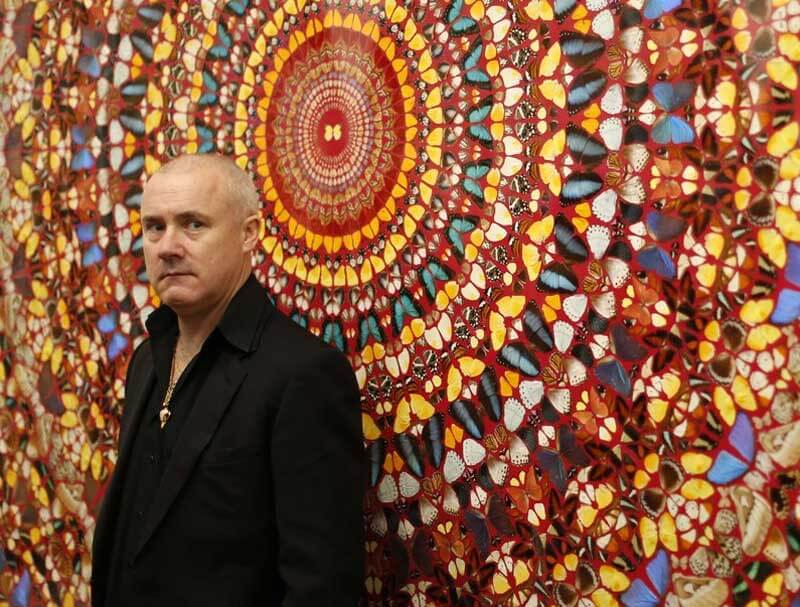 Damien Hirst To Build Swimming Pool In Basement Renovation