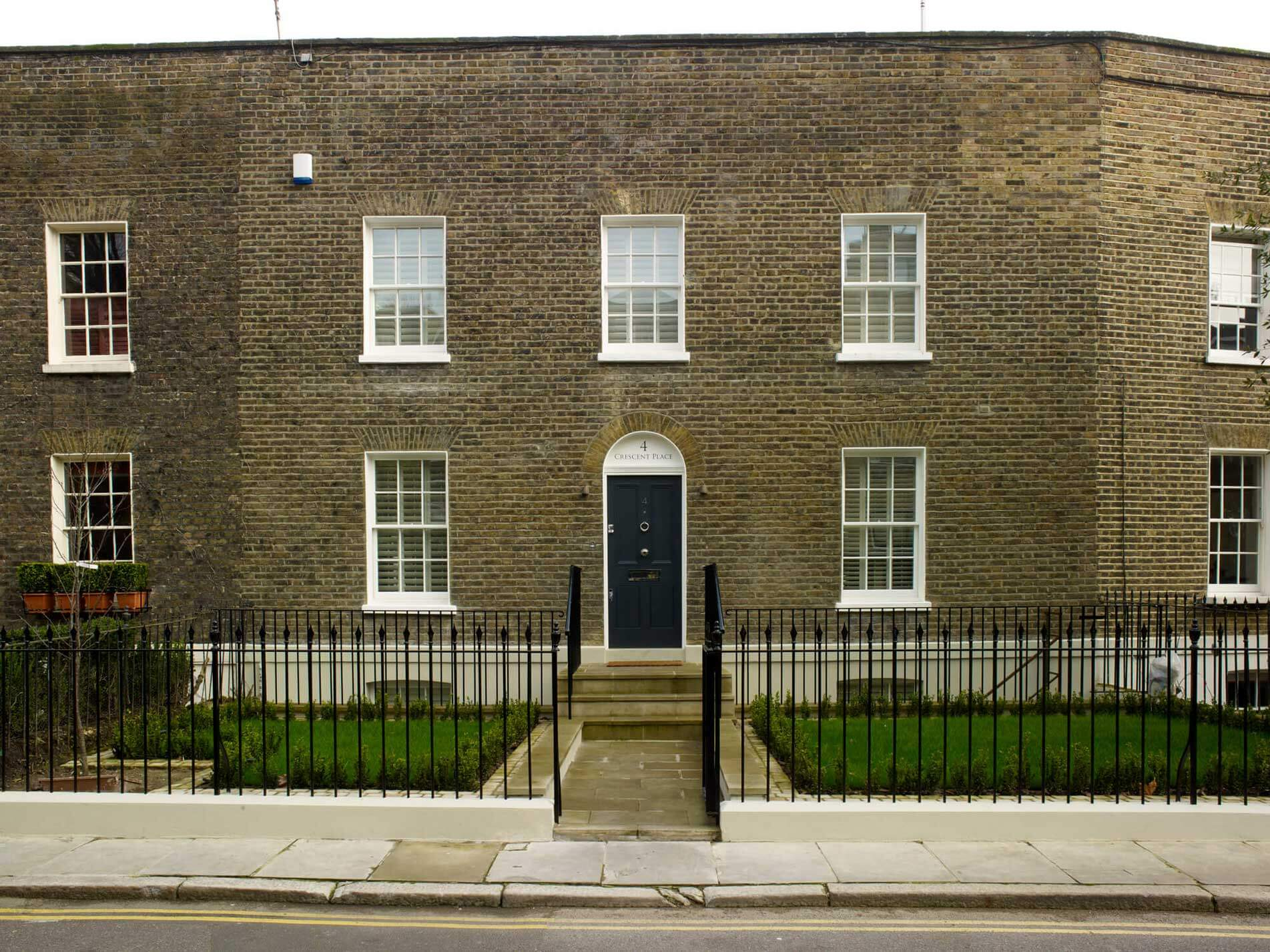 Renovation of house with basement in SW3