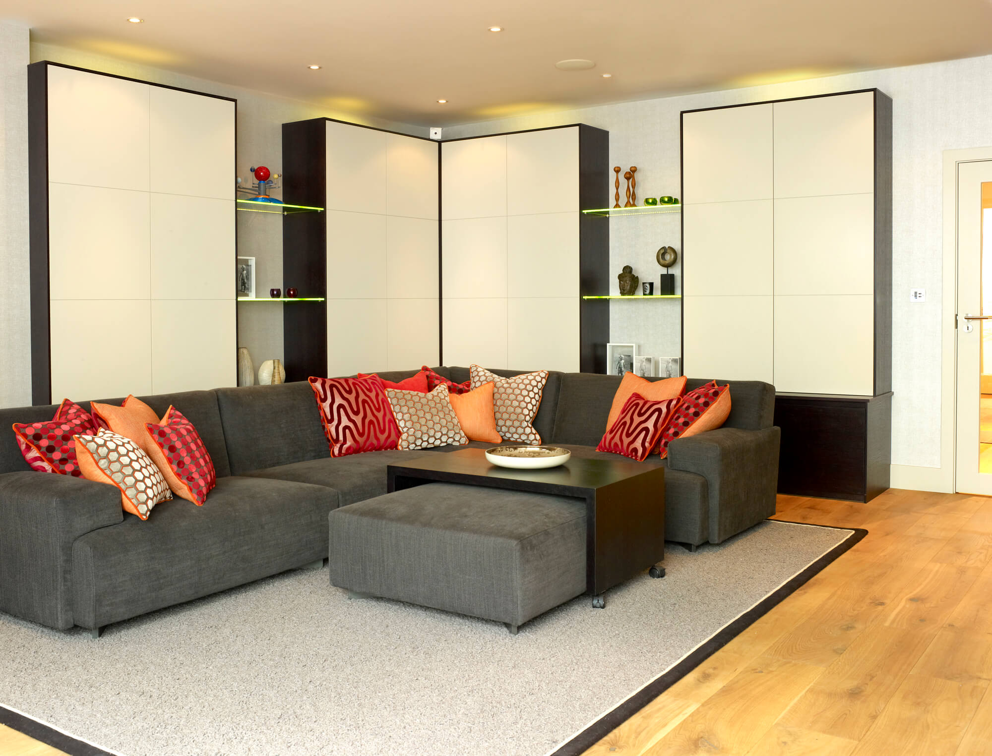 Basement conversion to large family home in SW18